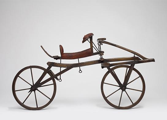 自転車の始祖ドライジーネ